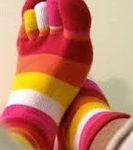 تولید جوراب های انگشتی