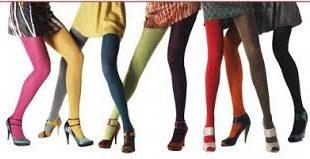 جوراب شلواری رنگی